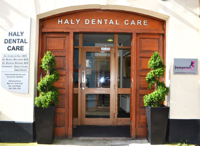 Entrance to Haly Dental Care